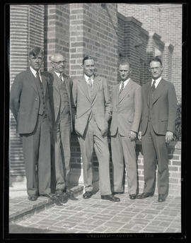 Lord Barnby and four unidentified men