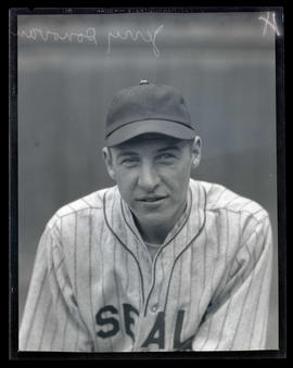 Jerry Donovan, baseball player for Seals