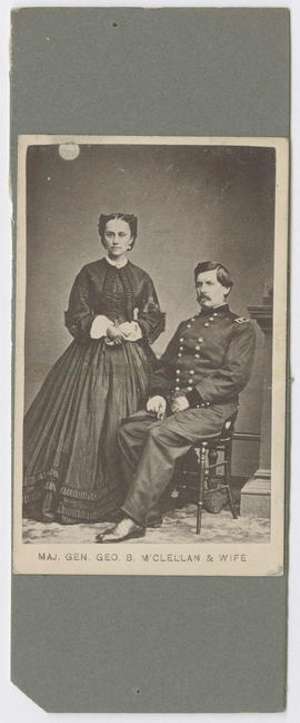 McClellan, Major General George B. and Mrs. McClellan