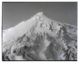 Aerial view, southeast face of Mount Hood
