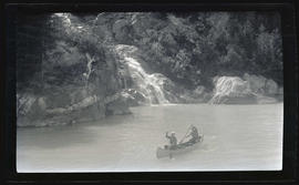 William Finley, Jr. and Art Pack Canoeing