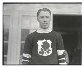 Hockey player for Portland Rosebuds