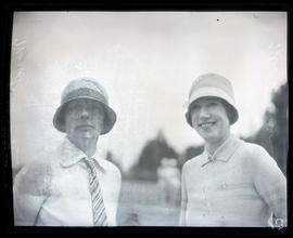 Mrs. Spencer? Biddle and Mrs. B. E. Eva, golfers