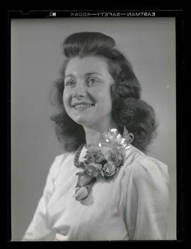 1942 Portland Rose Festival Princess Madelyn Devaney, Jefferson High School
