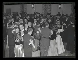 Students at Marylhurst College dance, 1942?