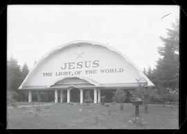 Exterior of Apostolic Faith tabernacle, southeast Portland