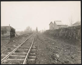 Steam Shovel on Extension of Oregon Electric Railway tracks to Eugene