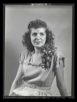 1945 Portland Rose Festival Princess Melba Bavaro, Girls Polytechnic High School