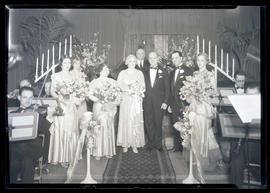 Unidentified wedding party