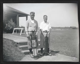 Moran and Horning, golfers