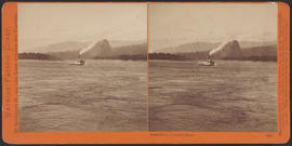 """Castle Rock, Columbia River."" (Stereograph 1247)"