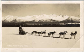 Dogsled, Claude Ewing Rusk expedition