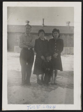 Yasutome Family, Tule Lake Relocation Center