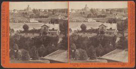 """Panorama of Victoria (B. C.) from the Government Buildings, (No. 13.)"" (Stereograph 5276)"