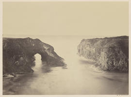 """Coast View off Mendocino."" (Mammoth Plate, unnumbered)"