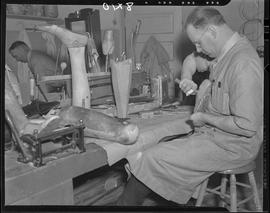 Artificial limb shop