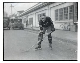 Hockey player for Multnomah Amateur Athletic Club