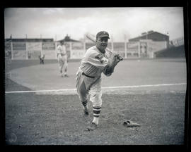 Nixon, baseball player, possibly for Portland
