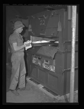 Baking bread at the United States Army Quartermaster Unit Training Center, Vancouver