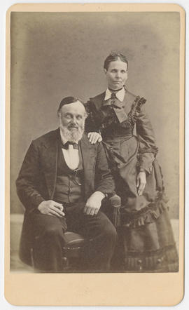 George Moore portrait of an unidentified man and woman