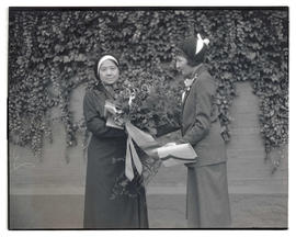 Princess Svasti of Siam with unidentified woman