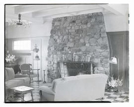 Lobby of The Dorchester House, Oceanlake, Oregon