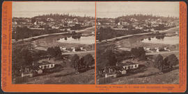 """Panorama of Victoria (B. C.) from the Government Buildings, (No. 9.)"" (Stereograph 5272)"