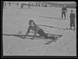 Timberline Lodge skier