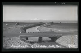 Irrigation Canal - The Dalles-California Highway, Oregon