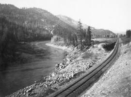 Railroad Alongside the Okanogan River