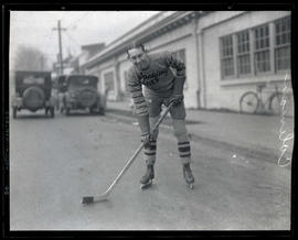Coleman, hockey player for Spalding Aces