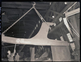 Moving steel-cast components at Columbia Steel Casting Company