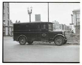 Loomis Armored Car Service vehicle