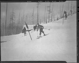 Skiers at Winter Sports Carnival