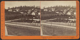 """Panorama of Victoria (B. C.) from the Government Buildings, (No. 4.)"" (Stereograph 5267)"