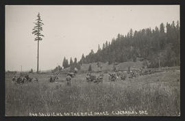 Soldiers on the Rifle Range, Clackamas, Oregon