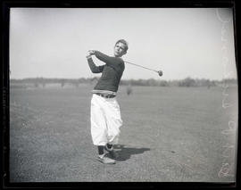 Art P. Ireland, golfer