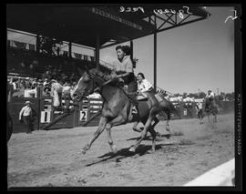 Native American Horse Race at Pendleton Round-Up