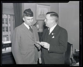 Portland Mayor Joseph K. Carson and commander of American Legion Post No. 35?