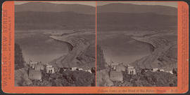 """Chinese Camp at the Head of the Dalles, Oregon."" (Stereograph E28)"