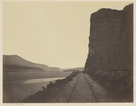 """Cape Horn near Celilo. Columbia River."" (Mammoth 456)"