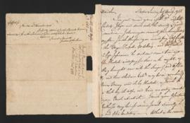 Power of Attorney document and letter from Joseph Barrell to Samuel Webb