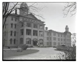 Front of J Building, Oregon State Hospital, Salem