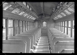Interior of train car #1098
