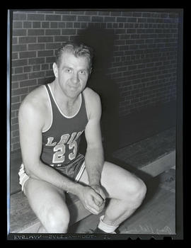 Roy Helser, basketball player for Albina Hellships