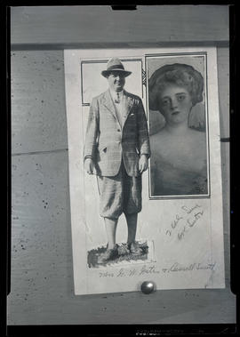 Pictures of Mrs. Adeline M. Gates and S. Russel Smith