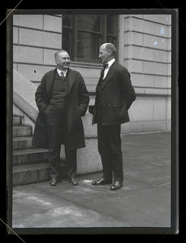Prohibition agents S. F. Rutter, and J. P. Marstella in Portland