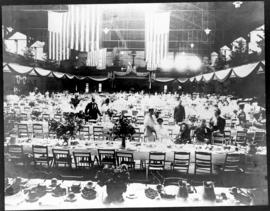 Aftermath of banquet, Lewis and Clark Centennial Exposition, 1905