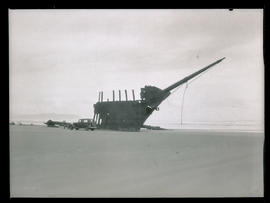Wreckage of Peter Iredale
