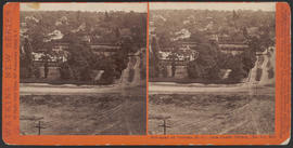 """Panorama of Victoria (B. C.) from Christ Church, (No. 11.)"" (Stereograph 5287)"